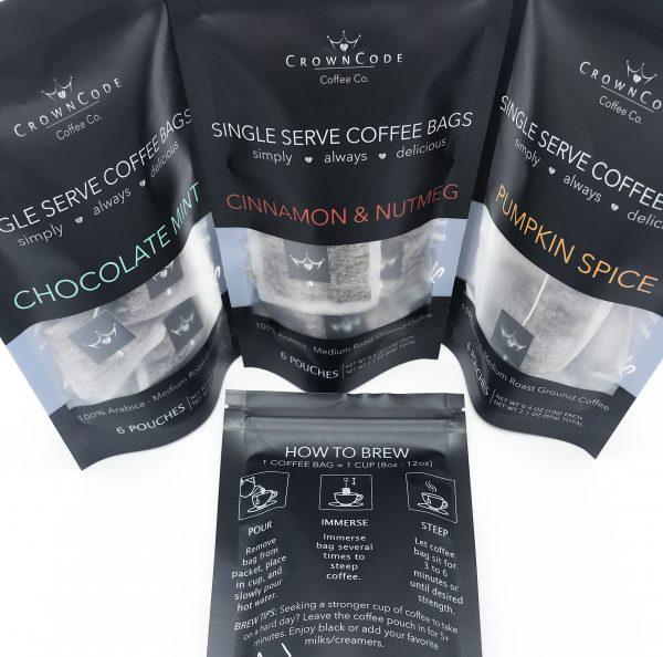 Single Serve Coffee Bags